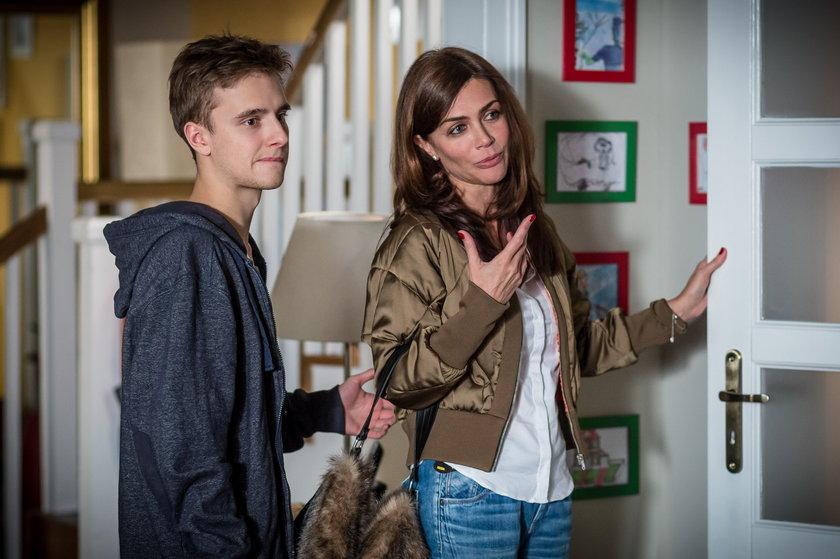 Tomek (Maciej Musiał) i Milena (Ewa Bukowska)