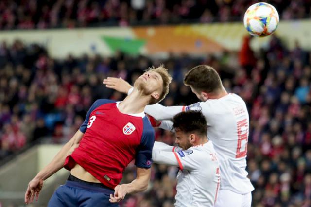Detalj sa utakmice Norveška - Španija