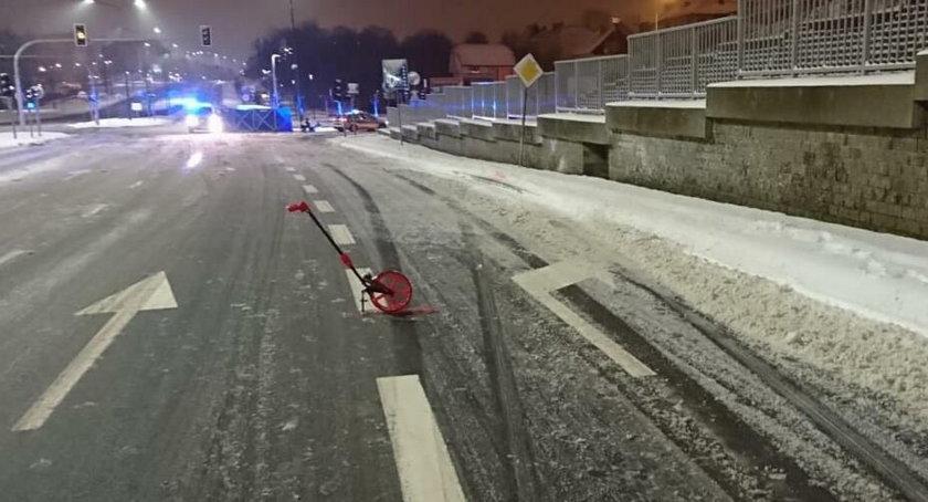 Śmiertelny wypadek w Olsztynie