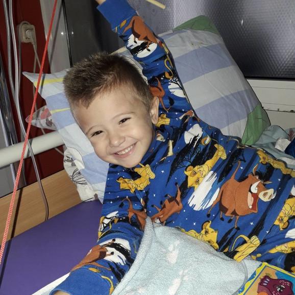 Nikola Pavlović, dečak za čije je lečenje potrebno skupiti četvrt miliona evra
