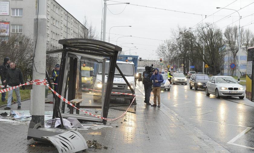 Wypadek we Wrocławiu.