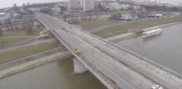 Most Łazienkowski będzie niższy