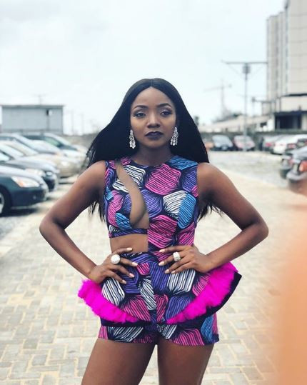 Simi couldn't hide her disdain for the actions of Busola's alleged rapist [Instagram/SymplySimi]