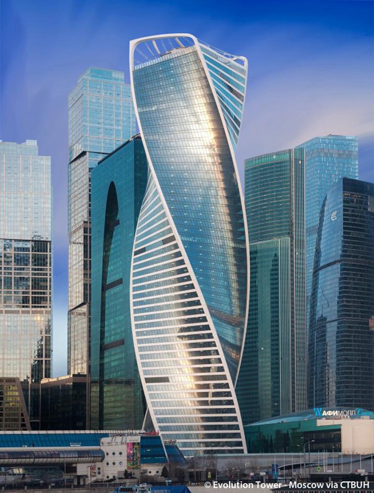 uvrnuti neboderi08 Evolution Tower arhivska fotografija www.skyscrapercenter.com Evolution Tower - Moscow