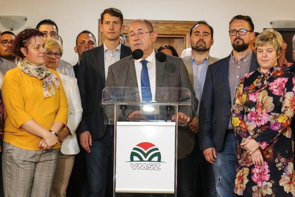 Ištvan Pastor, lider Saveza vojvođanskih Mađara