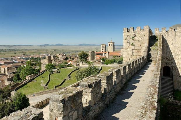 Trujillo Castle, Cáceres, Hiszpania