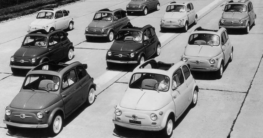 Fiat 500 kosztował niewiele więcej niż skuter, a oferował znacznie więcej możliwości