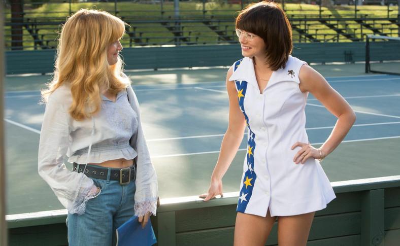 Emma Stone i Andrea Riseborough
