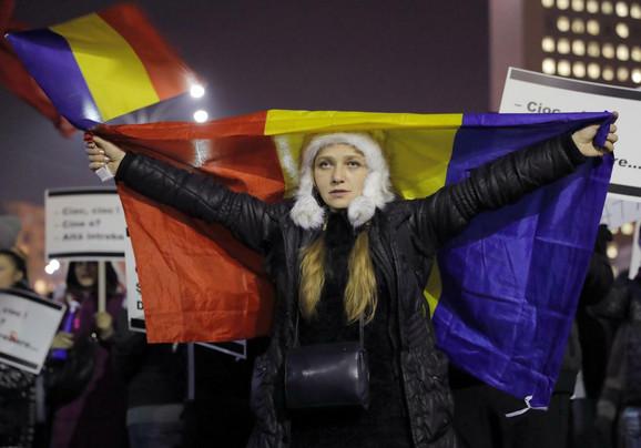 Protesti u Rumuniji