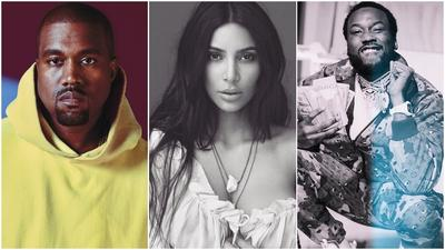 Photo of Kim Kardashian and Meek Mills' now-famous meeting emerges after Kanye West's Twitter outburst