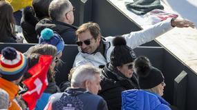 Wizyta Federera w Sankt Moritz wzbudziła wielkie emocje wśród zawodniczek