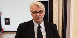 Waszczykowski pokłócił się z wiceszefem Komisji Europejskiej. O co poszło?