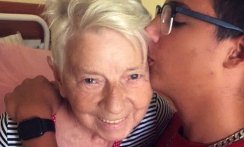 Mama Edyty Górniak w szpitalu z Allanem