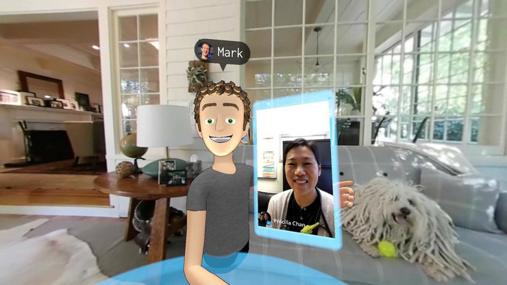 Fejsbuk, Virtuelna realnost, Mark Zakerberg