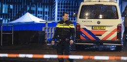Strzelanina w Amsterdamie! Napastnik wyciągnął broń przed bankiem