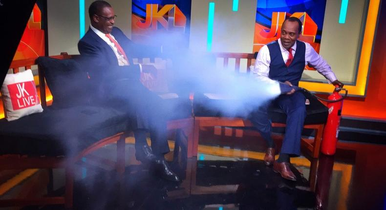 File image of Evans Kidero when he appeared on JKL. Citizen TV will host him on Tuesday 22 Jan 2019