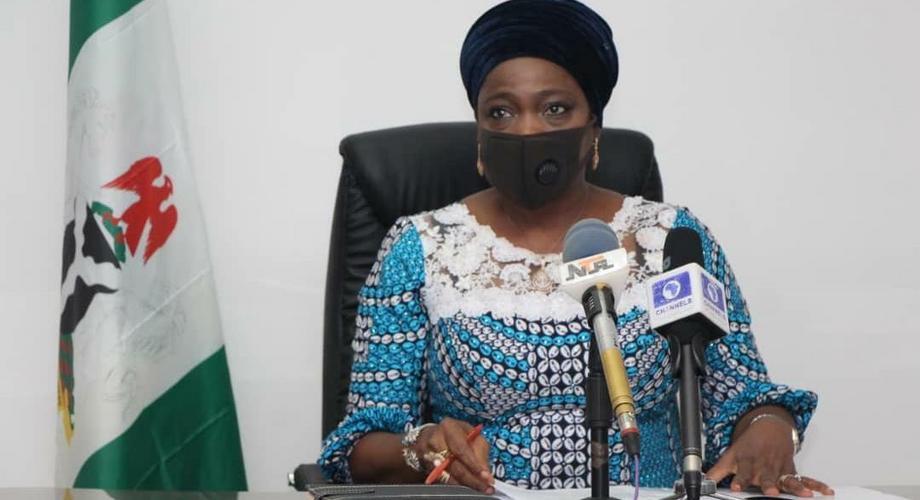 Abike Dabiri-Erewa, CEO/Chairman Nigerians in Diaspora Commission (NIDCOM). [Twitter/@Ezeakachidozie]