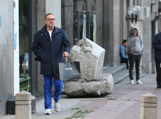 Kevin Spejsi u Beogradu