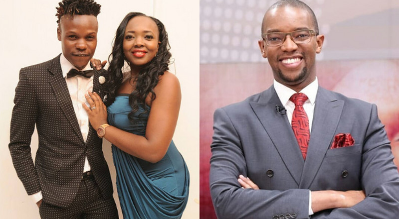 Eko Dydda's phone 'snatched' while on Live interview with Citizen TV (Video)
