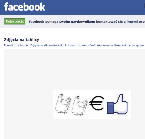 Rebus na Facebooku