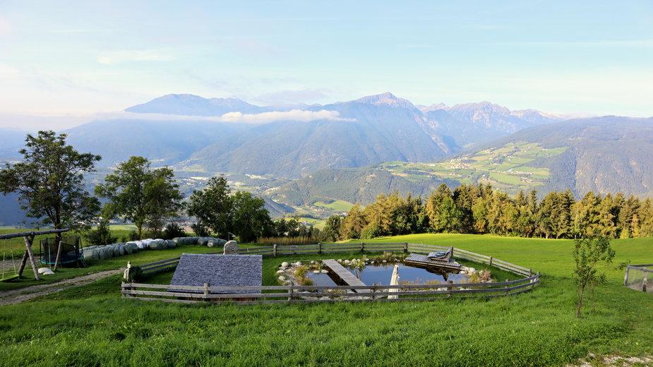 Widok z tarasu Ahner Berghof