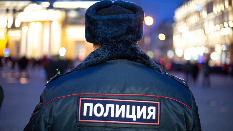 Rosyjski policjant