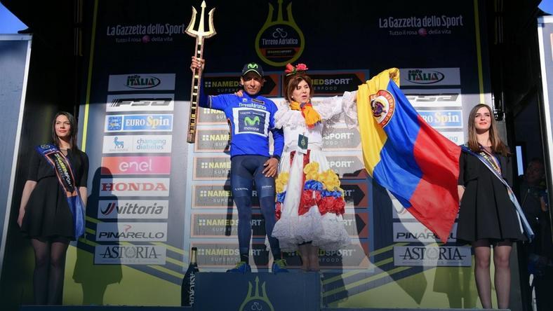 Nairo Quintana: wygrałem bardziej głową niż nogami