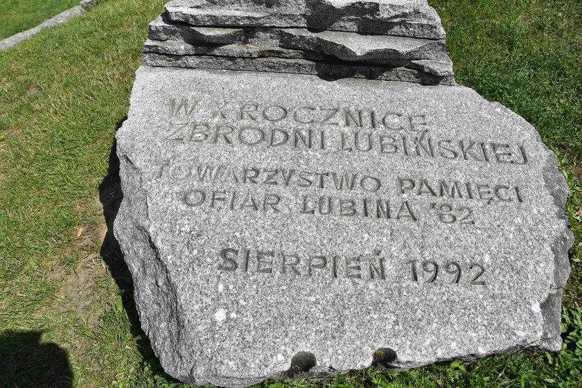 Pomnik Pamięci Ofiar Lubina '82