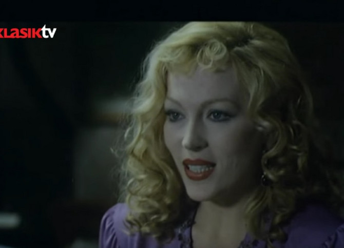 Marija Baksa u filmu