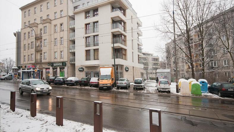 Torowisko przy ulicy Kościuszki