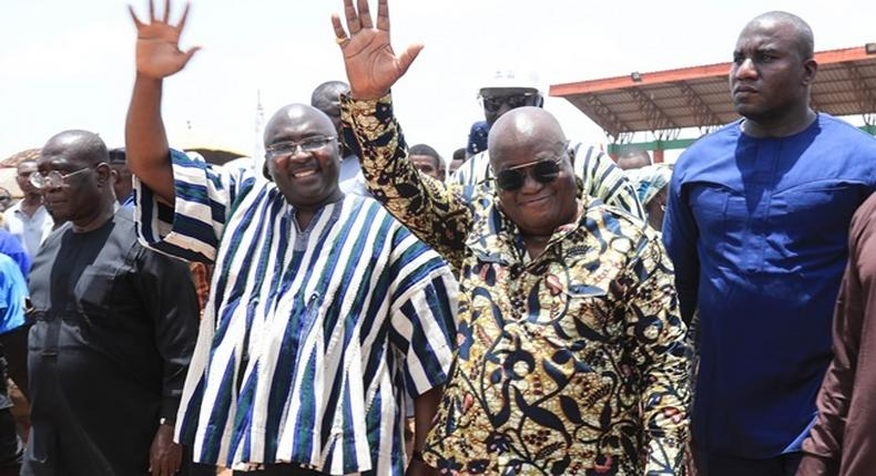President Akufo-Addo and Vice President, Dr Mahamudu Bawumia