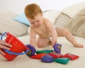 Zabawa klockami kształtuje zdolności ruchowe dziecka