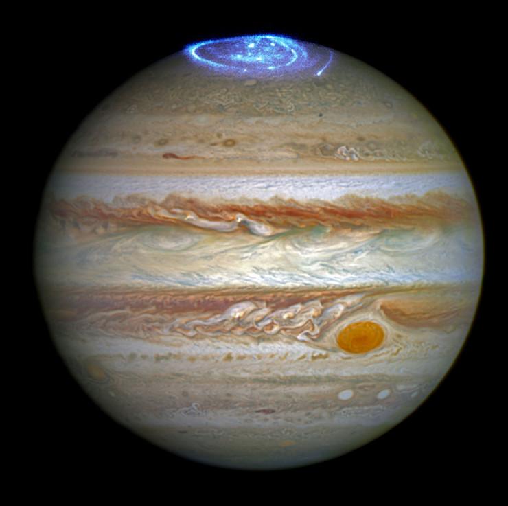 jupiter juno aurora1 arhivska fotografija NASA