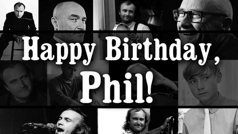Phil Collins skończył65 lat. Wszystkiego najlepszego!
