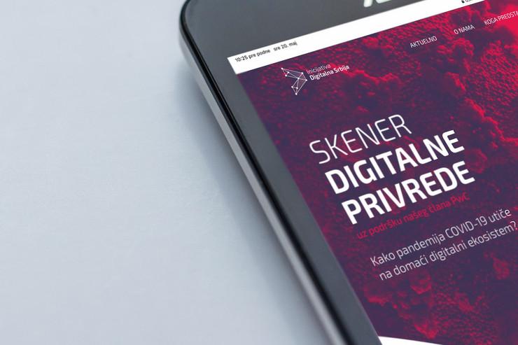 Skener digitalne privrede COPYRIGHT Digitalna Srbija