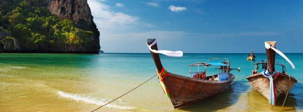 Wybrzeże morza Andamańskiego w Tajlandii