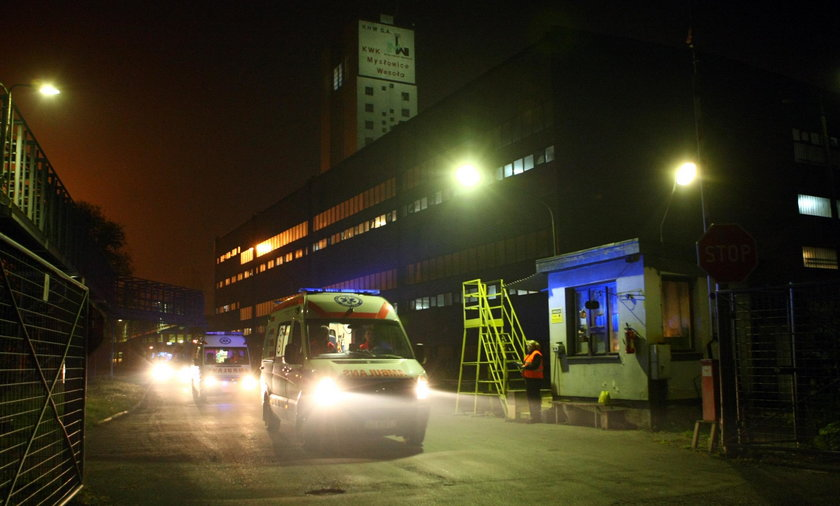 Wypadek w KWK Mysłowice-Wesoła