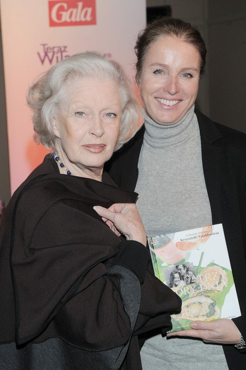 Beata Tyszkiewicz z córką