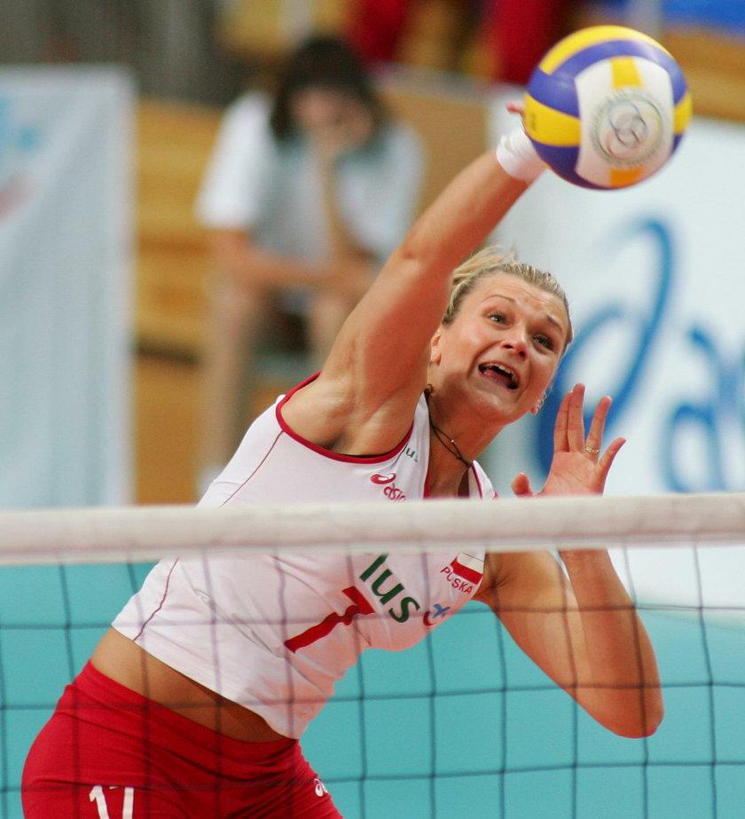 Małgorzata Glinka-Mogentale (41 l.) najlepsza siatkarka naszego kontynentu w 2003 r., obecnie prowadzi akademię siatkarską dla młodzieży