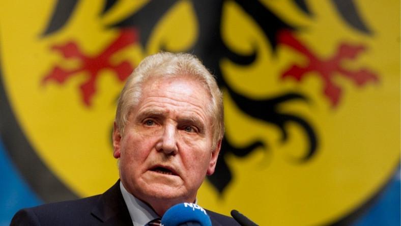 Przewodniczący Ziomkostwa Śląskiego Rudi Pawelka