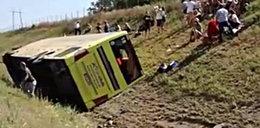 Wypadek polskiego autokaru w Serbii. Jedna osoba nie żyje