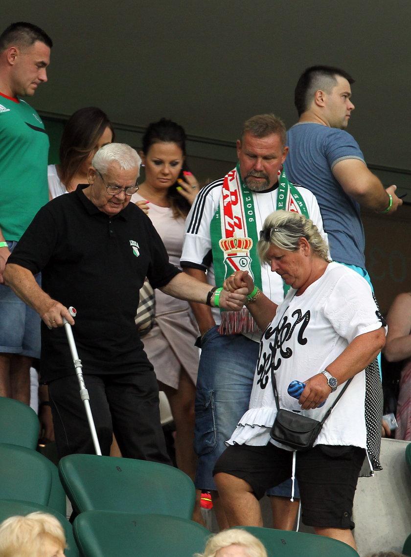 Powstańcy odwiedzili stadion Legii