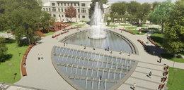 Nową fontannę w Lublinie popsuli... policjanci
