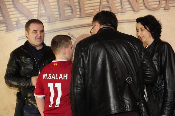FK Liverpul - Navijačima je i u Beogradu Salah neizostavni deo dana