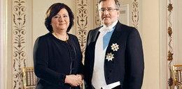Para prezydencka też ubiera się za nasze