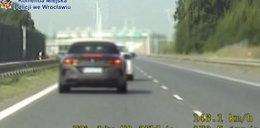 Na liczniku miała prawie 250 km/h! Jej tłumaczenie zaskoczyło policjantów