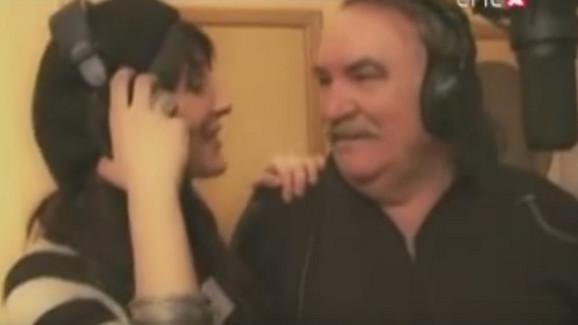 Mišo Kovač sa ćerkom Ivanom