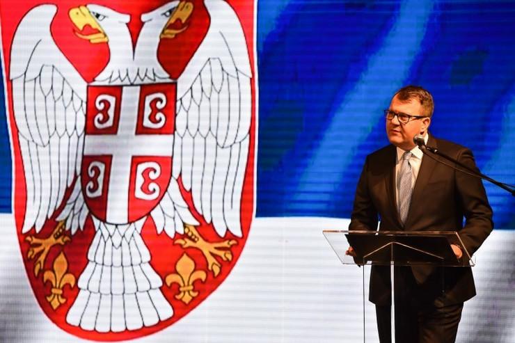 Kikinda, svečanost, Igor Mirović, foto promo