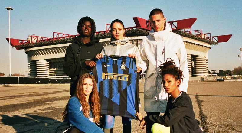 Nike release new jersey to celebrate 20th anniversary with Inter Milan