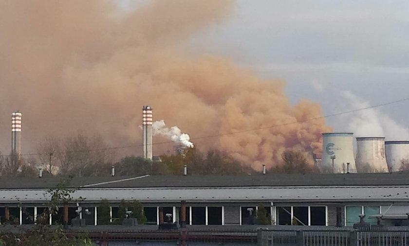 Pył nad Dąbrową Górniczą